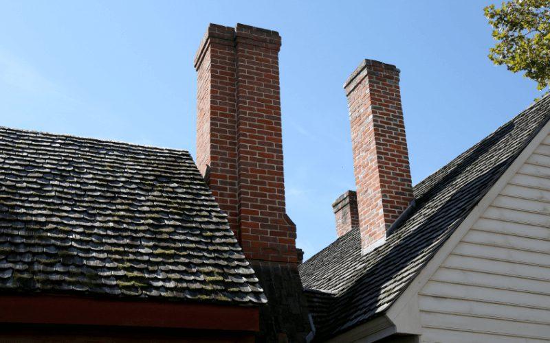 Frezowanie kominów - kominy.